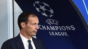 Allegri confesó que el gran deseo de la Juventus es ganar la Champions