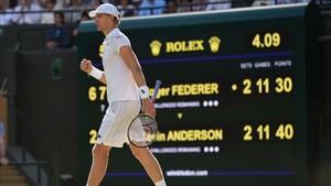 Anderson consumó un sorpresón mayúsculo eliminando a Federer