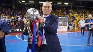 Andreu Plaza, con un título de liga que le sabe a gloria