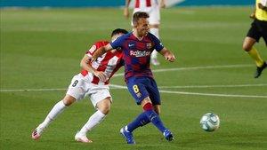 Arthur, dolido con el FC Barcelona y con Quique Setién
