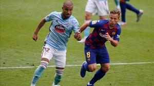 Arthur tuvo solo cinco minutos en Vigo