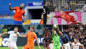 Arturo Vidal, Ter Stegen, De Jong y Antoine Griezmann fueron protagonistas con sus respectivas selecciones