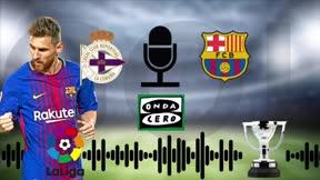 Así se narró el gol de Leo Messi ante el Deportivo