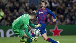 El Barça está a un paso de la clasificación