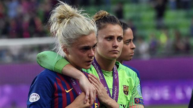 El Barça se rinde a las mejores de Europa