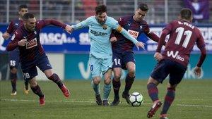 El Barça siempre ha ganado al Eibar en LaLiga Santander