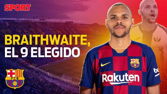 Braithwaite, el elegido para llegar al Barça