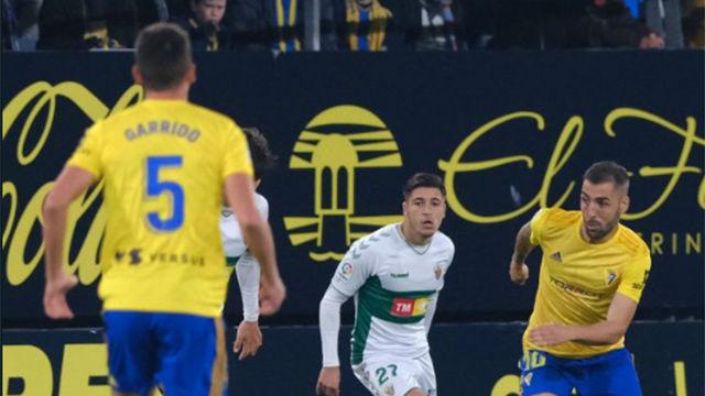 El Cádiz no pasa del empate ante el Elche