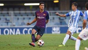 Chumi regresa a un Barça B que no atraviesa por su mejor momento