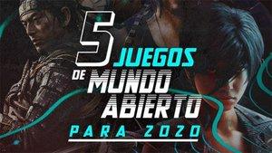 Cinco juegos de mundo abierto para 2020