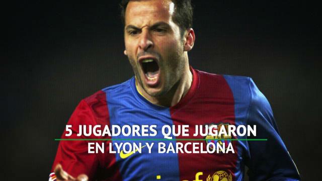 Cinco jugadores que pasaron por Lyon y Barça