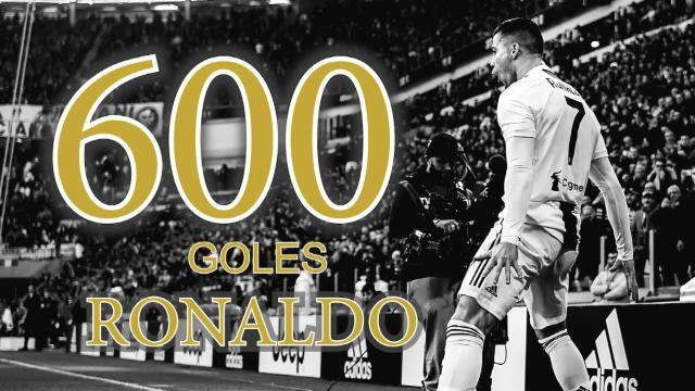Cristiano Ronaldo alcanza los 600 goles