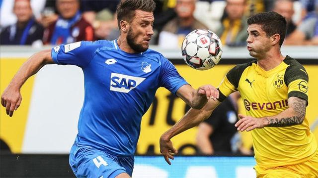 El Dortmund empata ante el Hoffeinheim gracias a Pulisic
