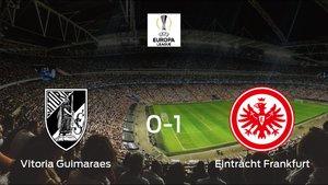 El Eintracht Frankfurt se queda con los tres puntos después de derrotar 0-1 al Vitoria Guimaraes