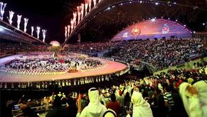 El estadio Khalifa de Doha, durante la inauguración de los Juegos Asiáticos de 2006
