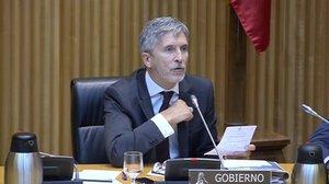 Fernando Grande-Marlaska reporta que ya hay condenas en el ámbito penal