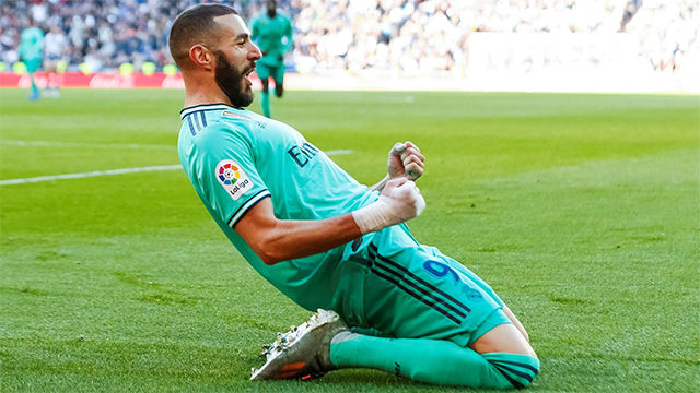 El gol de Benzema que dejó al Espanyol visto para sentencia