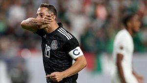 Guardado marcó dos goles contra Canadá