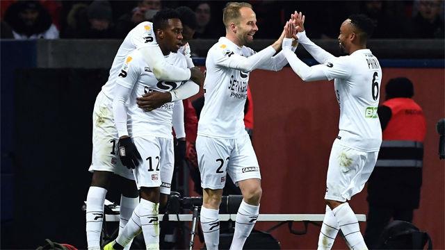 El Guingamp da la sorpresa y elimina al PSG de la Copa de la Liga