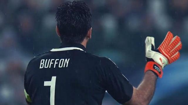 El homenaje de la Juventus a Buffon