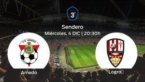Jornada 16 de la Tercera División: previa del duelo Arnedo - Logroñes B
