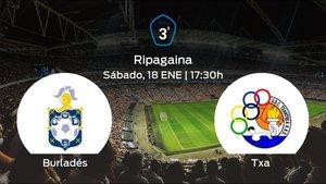 Jornada 20 de la Tercera División: previa del partido Burladés - Txantrea
