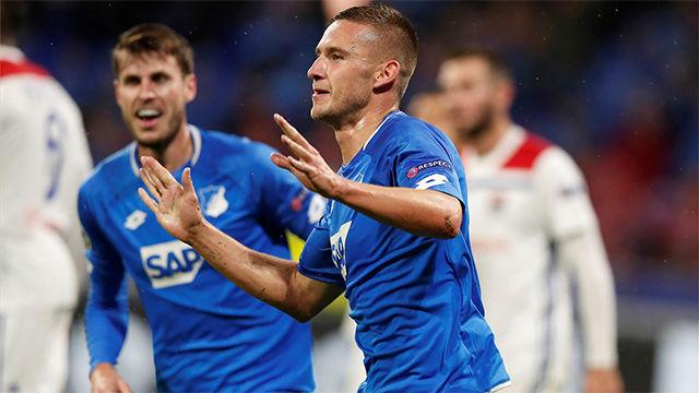 Kaderabek mantiene vivo al Hoffenheim con un gol en el descuento