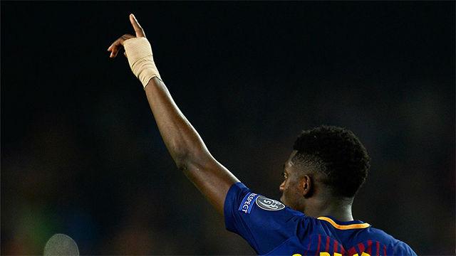 LACHAMPIONS | FC Barcelona - Chelsea (3-0): Dembélé anotó su primer gol como blaugrana