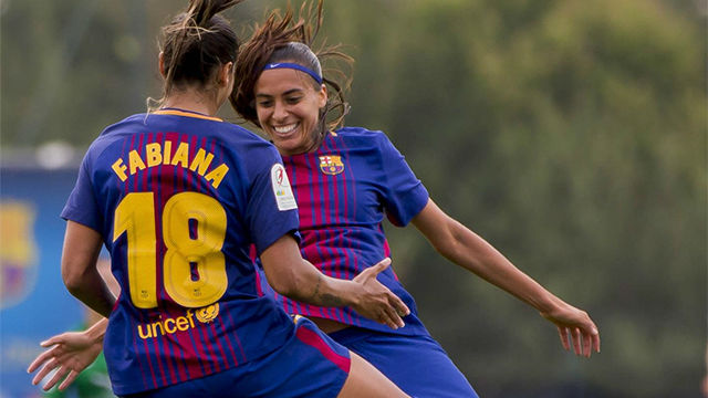 LALIGA FEMENINA | FC Barcelona - Santa Teresa (10-0)
