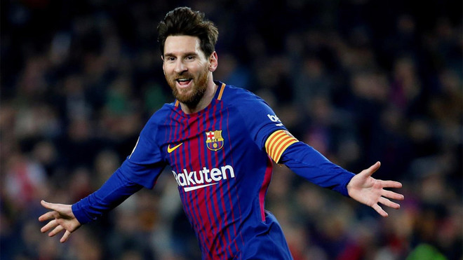 Messi da la bienvenida al Girona con un banquete de gala