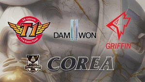 Los equipos de Corea de League of Legends World