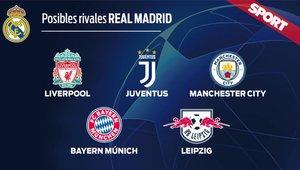 Los posibles rivales del Real Madrid en octavos de Champions