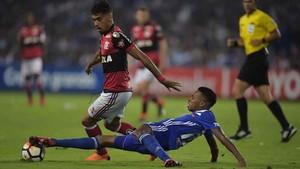 Lucas Paquetá, centrocampista del Flamengo, es uno de los jugadores con mayor proyección del fútbol brasileño