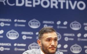 Lucas Pérez abandonó el Depor el pasado verano rumbo al Arsenal