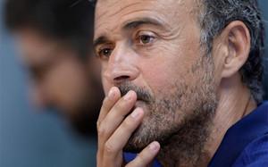 Luis Enrique ha recordado este sábado la Supercopa de España de la pasada temporada contra el Athletic Club
