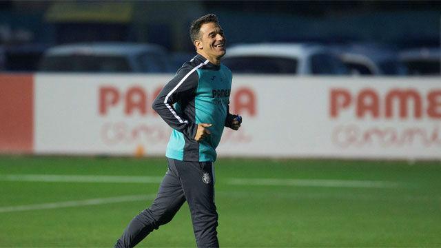 Luís García Plaza fue presentado como el nuevo entrenador del Villareal