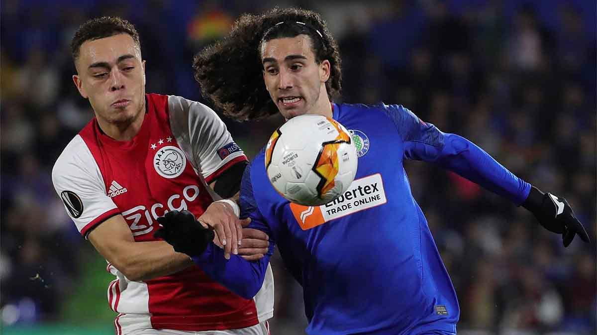 Marc Cucurella: El fútbol es un extra de moral para este confinamiento