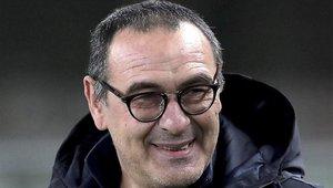 Maurizio Sarri, entrenador de la Juventus