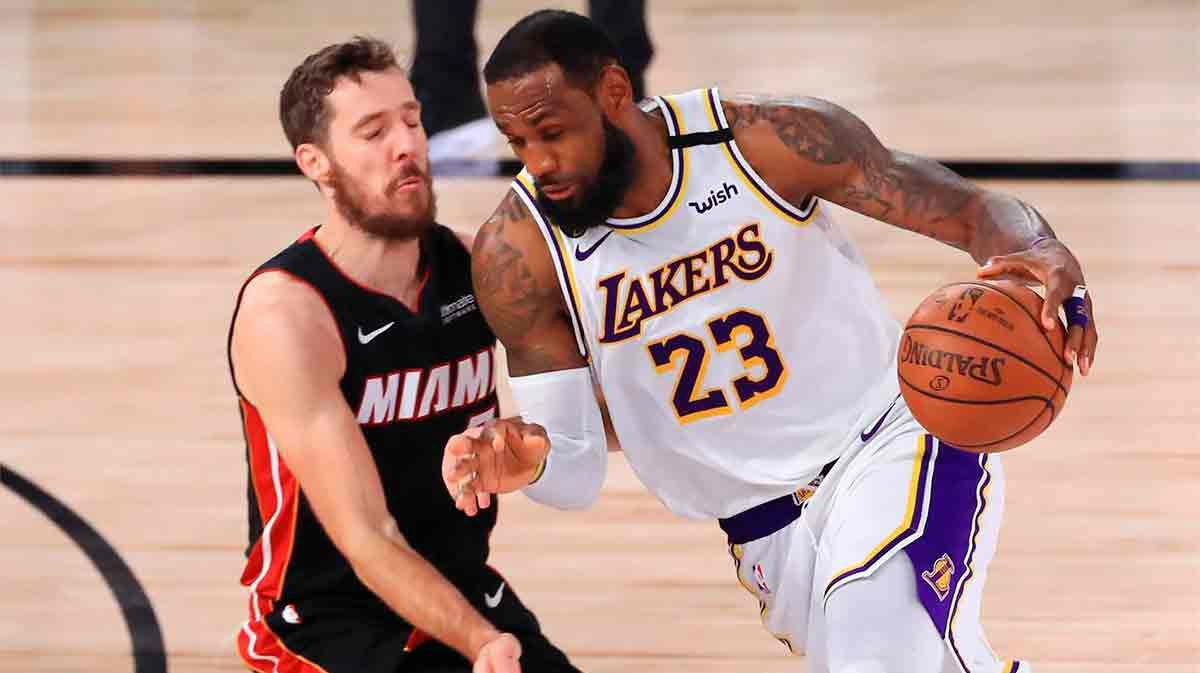 Lo mejor del partido de Lebron que le proclama campeón con los Lakers