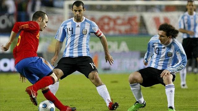 Messi nunca se ha planteado jugar con España