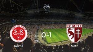 El FC Metz logra una trabajada victoria frente al Stade de Reims (0-1)