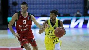 El MoraBanc no pudo frenar al Lokomotiv