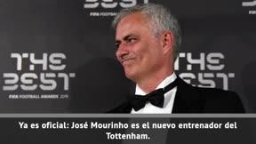 Mourinho, nuevo entrenador del Tottenham