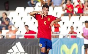 Munir abrió el marcador ante San Marino