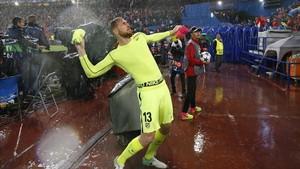 Oblak es uno de los porteros más cotizados del fútbol europeo