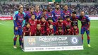 El once inicial del equipo ante el Chelsea