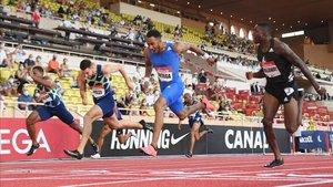 Ortega ganó la prueba de los 110 vallas en Mónaco