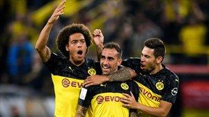 Paco Alcácer es el gran goleador del Borussia Dortmund