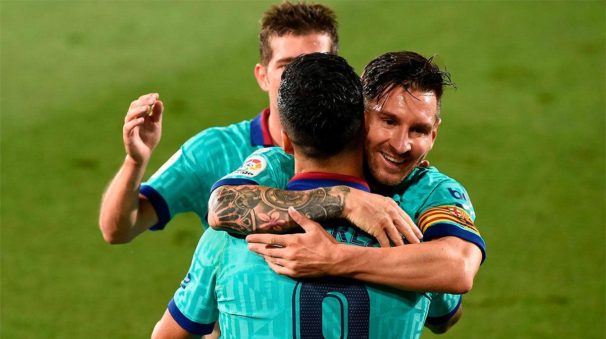 ¡Pero qué digo gol, por favor, golazo! Así narró la radio el gol de Luis Suárez