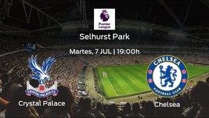 Previa del encuentro: el Crystal Palace recibe en su feudo al Chelsea